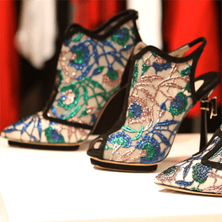 Nicholas Kirkwood's Midnight in Paris Fall 2012 Collection