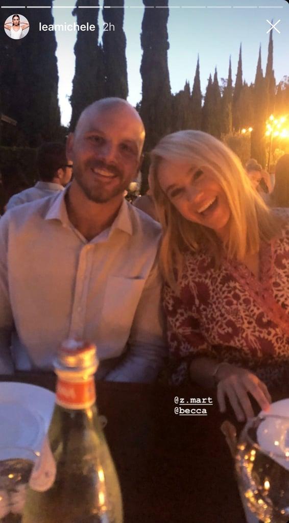 Lea Michele's Engagement Party July 2018