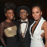 Pictured: Kerry Washington, Spike Lee, and Teyonah Parris