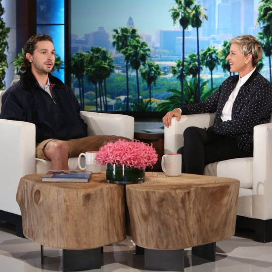 Shia LaBeouf on The Ellen DeGeneres Show October 2016
