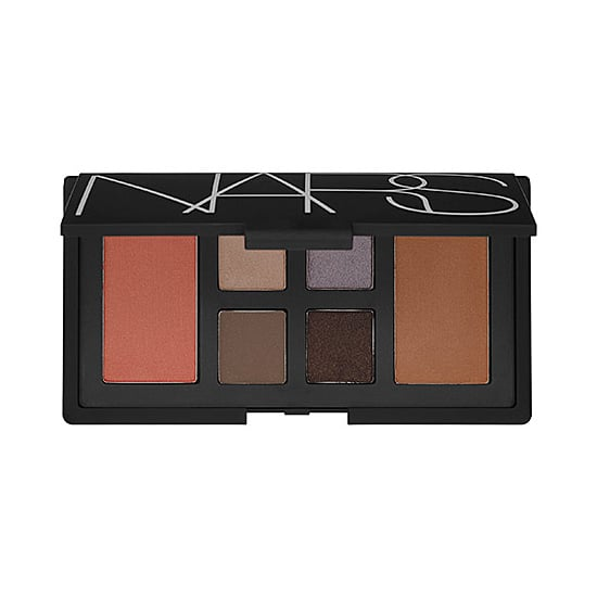 """The Nars At First Sight Eye & Cheek Palette ($65) gives new life to the term """"neutral palette"""" with lilac, emerald, and chocolate hues."""