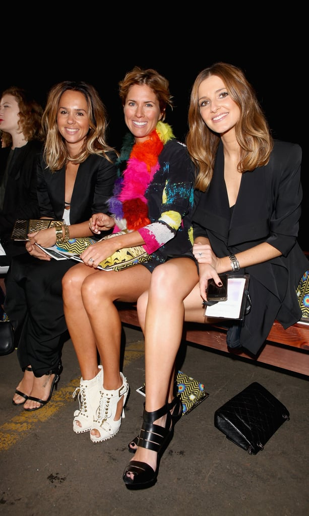 Pip Edwards, Sarah-Jane Clarke and Kate Waterhouse at Romance Was Born