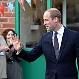 Prince William Visits Derby November 2016