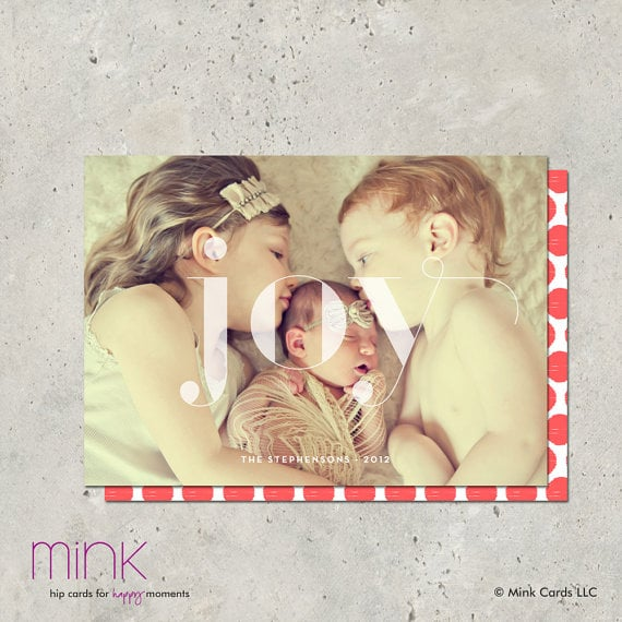 Mink Cards Overjoyed Card