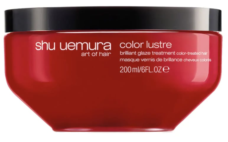 Shu Uemura's Color Lustre Treatment Mask for Color Treated Hair