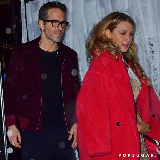 Ryan Reynolds and Blake Lively at Taylor Swift's Birthday