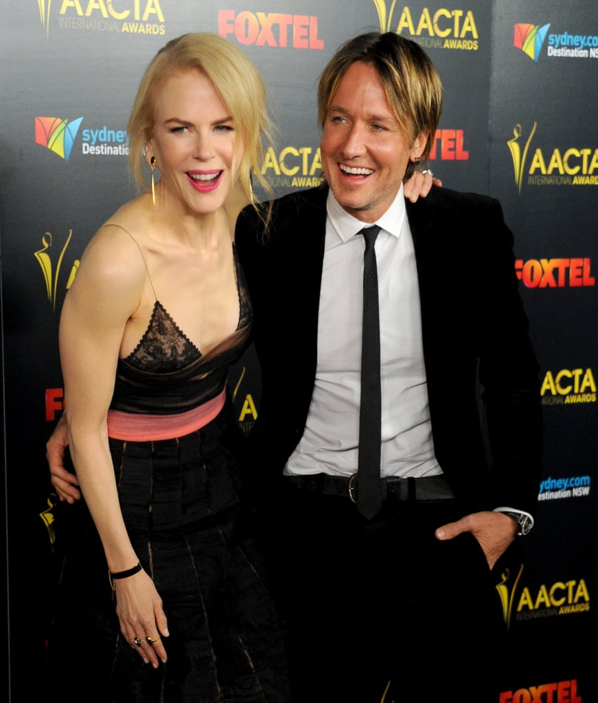 In January 2017, Nicole and Keith were all smiles when they attended the AACTA International Awards in LA.