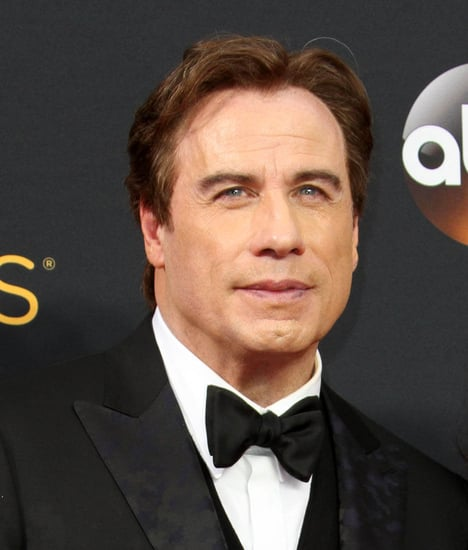 John Travolta and Kelly Preston are the Osmonds at the 2016 Emmys