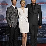 Emma Stone and Andrew Garfield Berlin Premiere