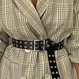 UO Square Double Prong Belt
