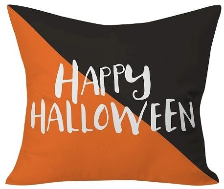 DENY Designs Zoe Wodarz Halloween Hipster Throw Pillow40x40 Enchanting Halloween Pillows Decorations