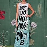Melissa Satta at The Green Carpet Fashion Awards 2019