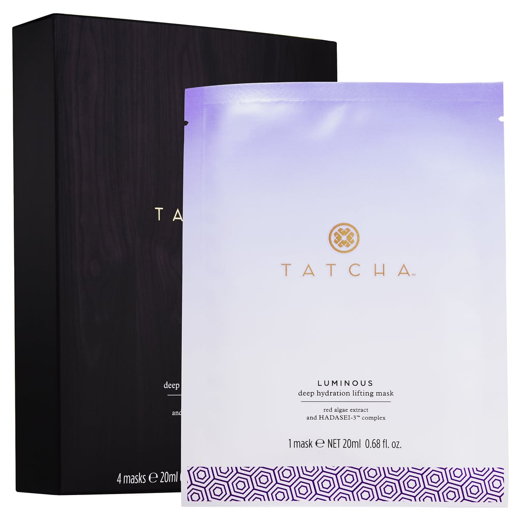 "Best for: When you're severely hungover and desperately dehydrated. You may have croaked out ""water!"" after a long night at the bars, but did you ever stop to think what your skin was craving the next morning? Tatcha's Luminous Deep Hydration Lifting Mask ($95 for four masks) is made of coconut biocellulose, which was originally developed to speed healing for burn victims. The fabric locks hydrating ingredients like hyaluronic acid and red algae deep into the dermis, plumping fine lines and nourishing your complexion."