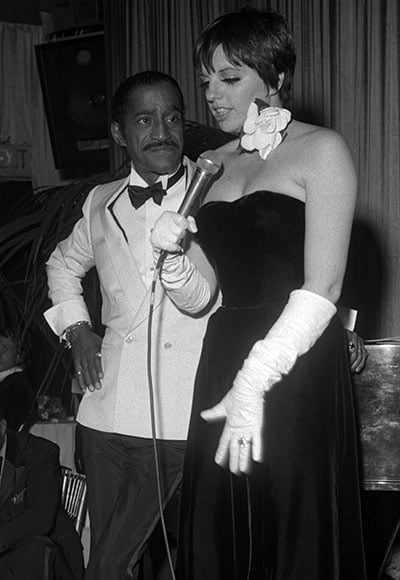Liza Minelli And Sammy Davis Jrs Duet