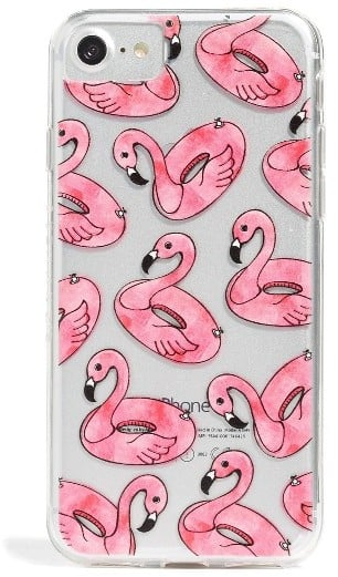 Skinnydip Flamingo Float iPhone Case - Pink ($24)