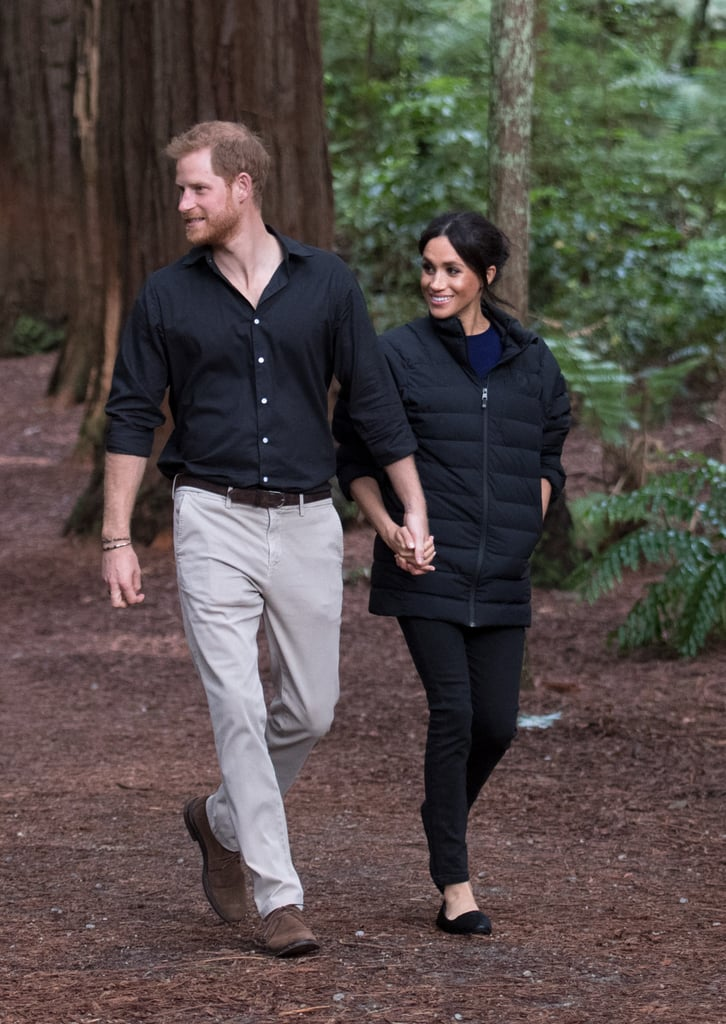 Meghan Markle Birdies Flats in New Zealand 2018