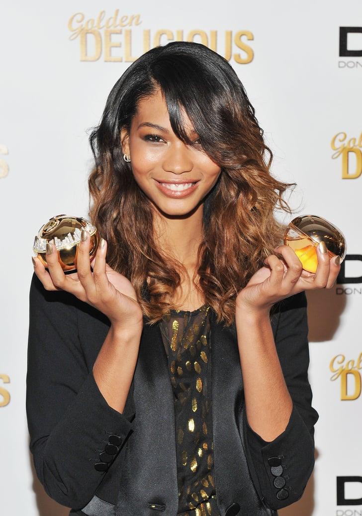 Chanel Iman Launches The 1 Million Dkny Fragrance Bottle