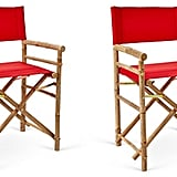 Pair of Outdoor-Safe Director's Chairs ($125)