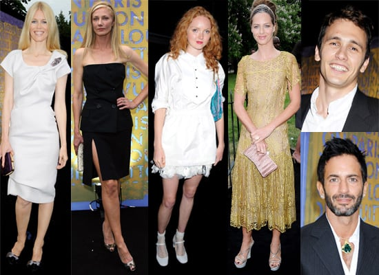 Photos From Louis Vuitton Dinner At The Serpentine featuring Marc Jacobs,Lily Cole, James Franco, Cherie Blair, Joely Richardson