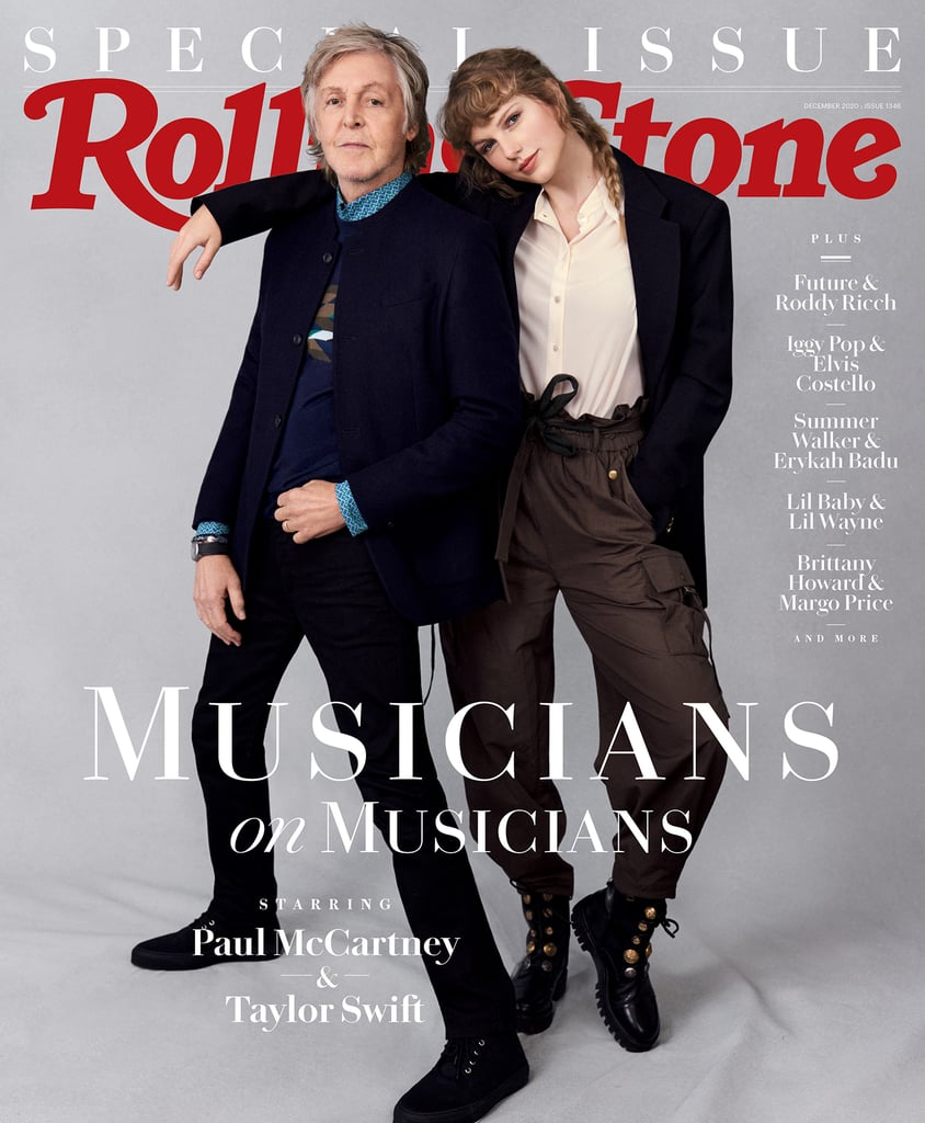 Taylor Swift Poses With Paul McCartney in Stella McCartney