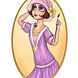 1920s Rapunzel