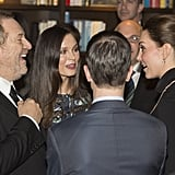Along With Harvey Weinstein and Georgina Chapman!