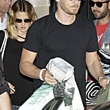 Cameron Diaz and fiancé Will Kopelman were together for wedding preparations in LA.