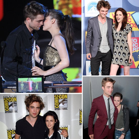 Kristen Stewart And Robert Pattinson Kissing After Breakup