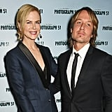 Nicole Kidman and Keith Urban at Photograph 51 Party