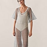 Zara Sparkly Textured Knit Tunic
