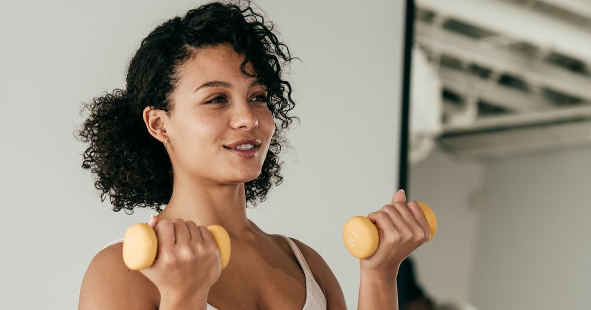 Yes, You Can Get a Good Workout With Those Light Weights You Have at Home — Here's How