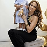 Jennifer Lopez's Daughter Is Following in Her Mom's Footsteps