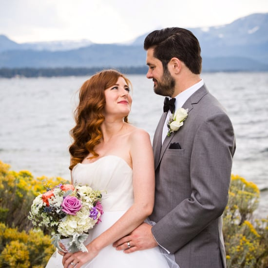 Indoor Lake Tahoe Wedding