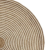 Bonnie: Round Cotton and Jute Rug