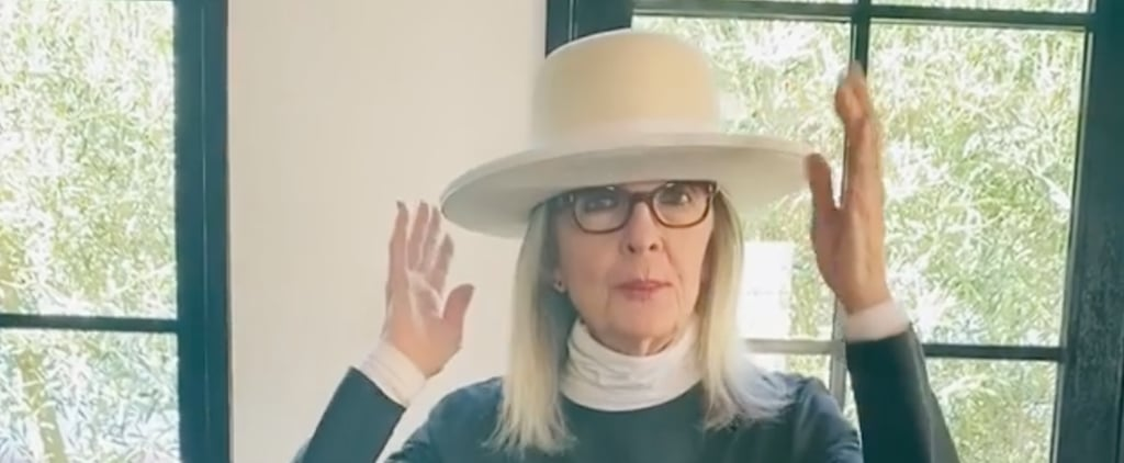 Diane Keaton Shows Off Hat Collection in Wholesome Video