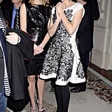 Marion Cotillard and Celine Sallette went to a party for Cesar's Revelations in Paris.