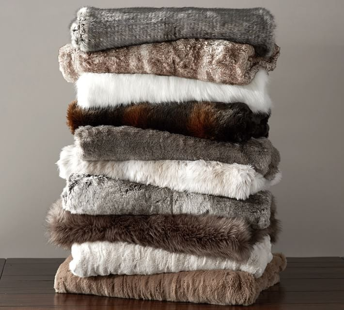 Faux Fur Throws Top Wedding Registry Items Popsugar Home Photo 9
