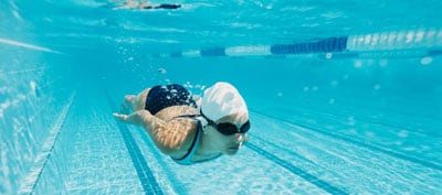 Get it Up, Your Heart Rate, That Is: Swimming