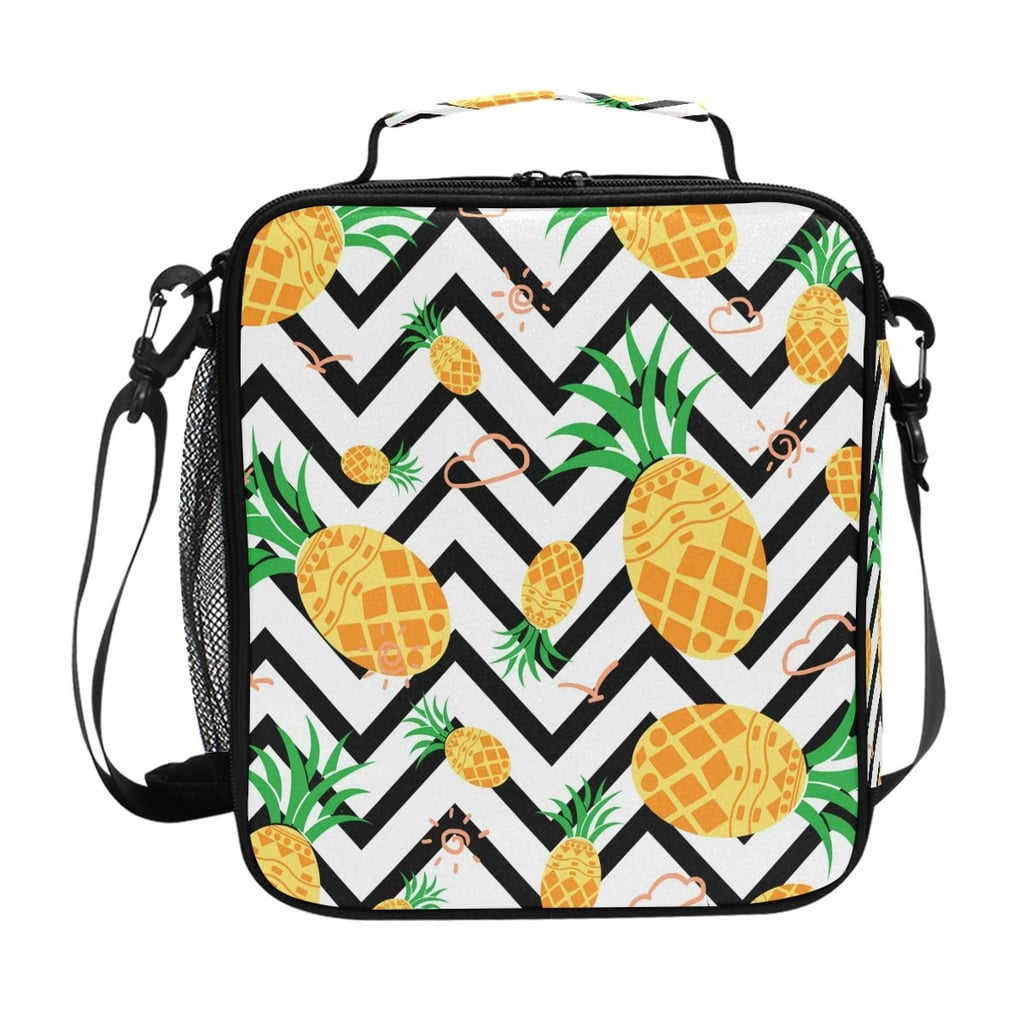 Insulated Pineapple Lunch Box