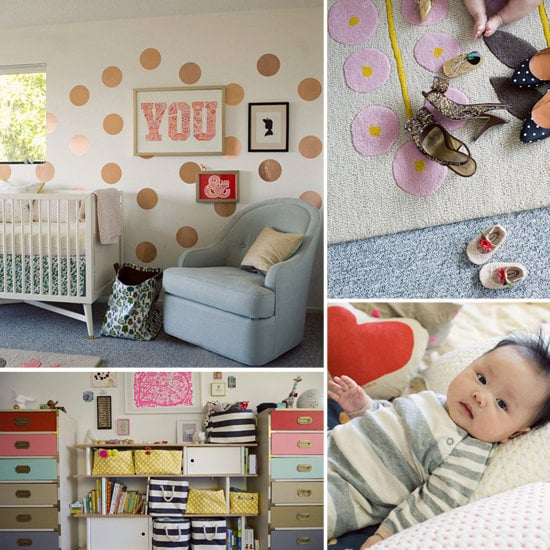 Nurseries: A Fanciful, Fun Nursery For a California Girl
