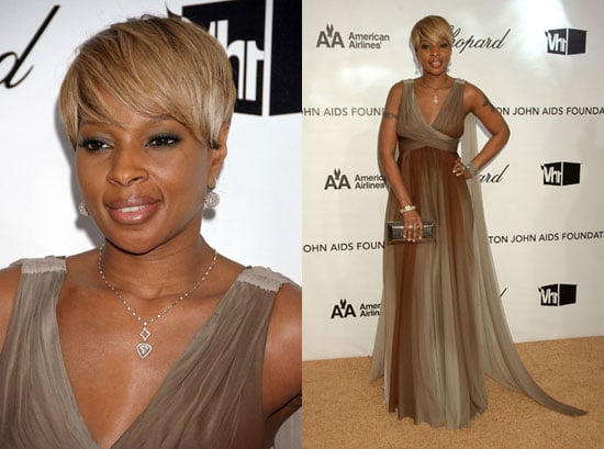 Elton John AIDS Foundation Oscar Party: Mary J. Blige