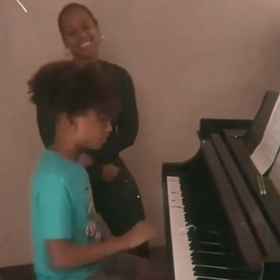 "Alicia Keys and Son Egypt ""Sweet Dreams"" Piano Duet 