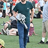 Robert Pattinson attended Coachella day two.