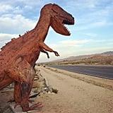Joshua Tree Metal Dinosaurs