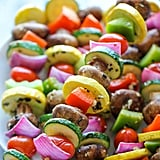 Garlic-Herb Vegetable Kebabs
