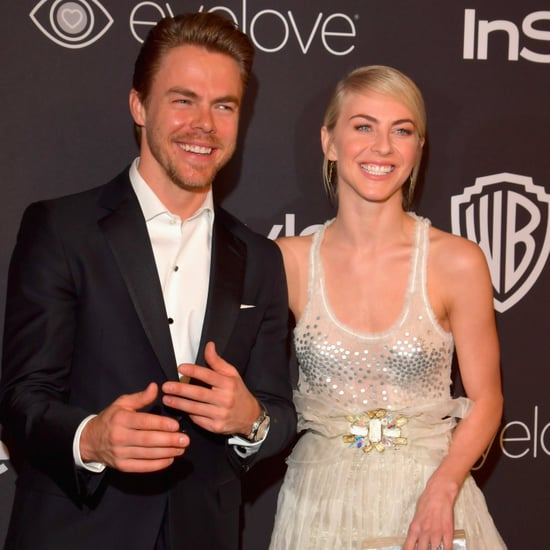 Julianne and Derek Hough at 2017 Golden Globes Afterparty