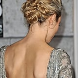 Rachel McAdams had her hair intricately woven for the premiere of Sherlock Holmes: A Game of Shadows.