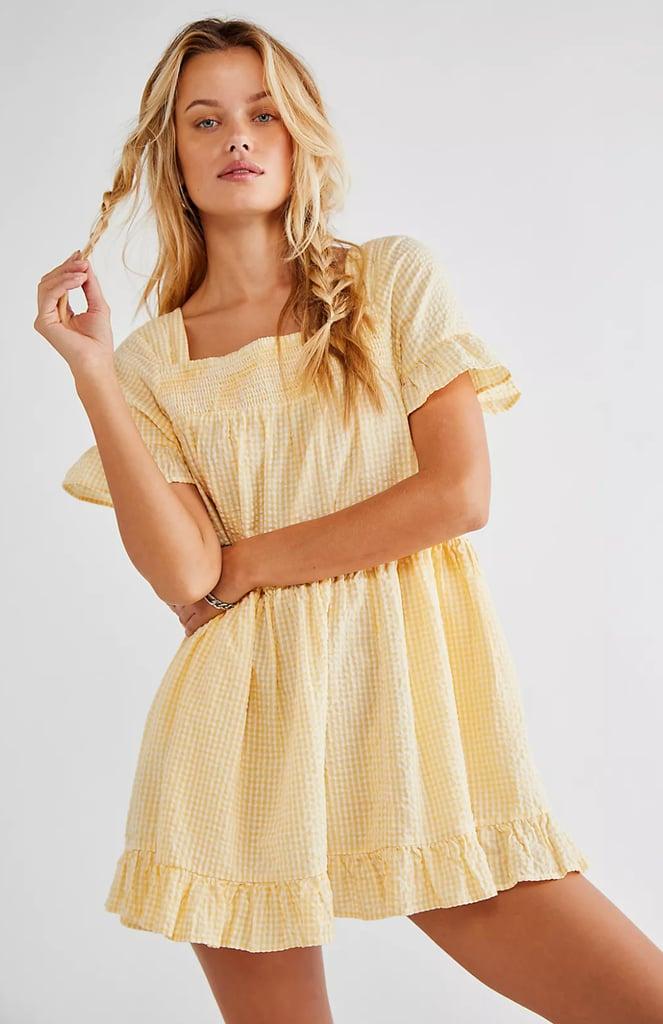 Shop Gingham Dresses: Free People Gingham Sadie Tunic