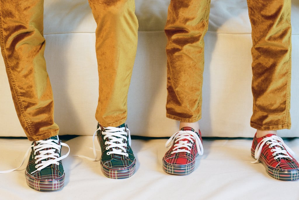 Vans and Opening Ceremony are at it again with their ongoing and genius collaboration. They've already released Glitter, Satin, and Glossy packs, and now they've put out the Plaid pack.   The collection includes two revamped versions of Vans's retro '90s Lampin sneaker, with green or red plaid all over. The shoes retail for $95 and are available on Opening Ceremony's website now.      Related:                                                                                                           13 Pairs of Vans So Good, You'll End Up Wearing Them With Everything
