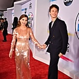 Pictured: Violetta Komyshan and Ansel Elgort